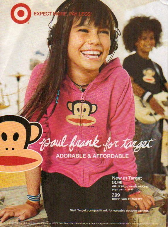 paul frank magazine ad